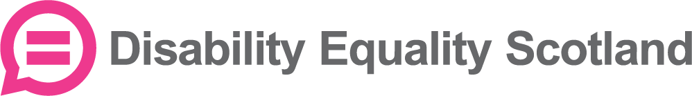 Disability Equality Scotland Logo